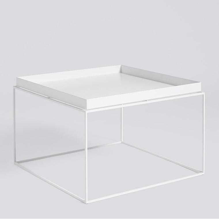 HAY Tray Table Coffee Bord Hvid