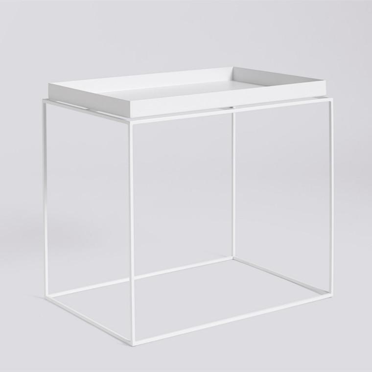 HAY Tray Table Side Bord Hvid