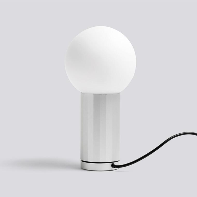 HAY Turn On Bordlampe Aluminium