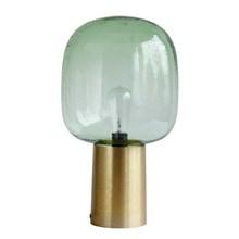 House Doctor Bordlampe Note Grøn-Messing