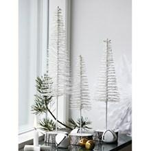 House Doctor Dekoration Juletræ Sparkle Hvid Glitter