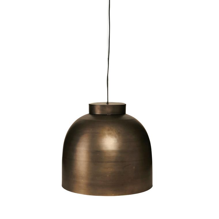 House Doctor Lampe Bowl Gunmetal 35 cm.