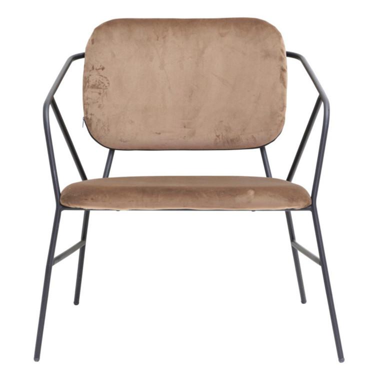 House Doctor Lounge Stol Klever Sennepsgul