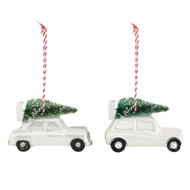 House Doctor Ornament Xmas Car 2 stk
