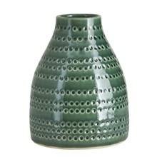 House Doctor Vase Circles Smaragdgrøn