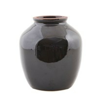 House Doctor Vase Shine sort stor