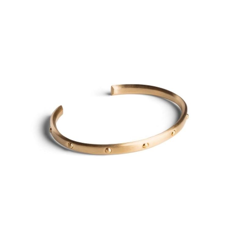 Jane Kønig Skrue-armbånd Guld