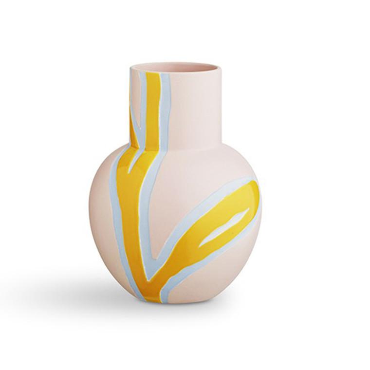 Kähler Fiora vase pink