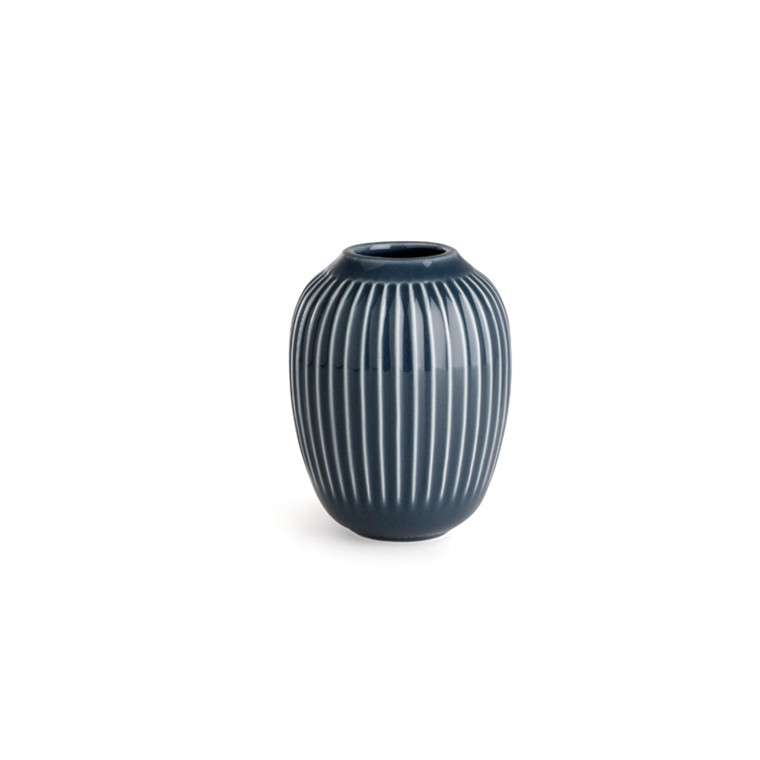 Kähler Hammershøi vase H100 Antracitgrå