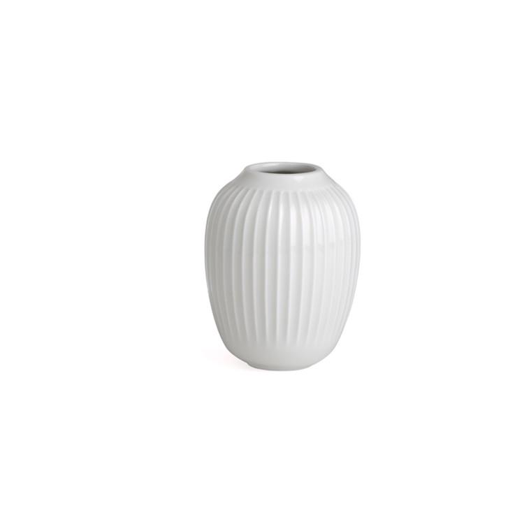 Kähler Hammershøi vase H100 hvid