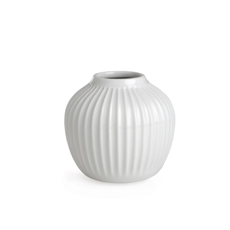 Kähler Hammershøi Vase H125 Hvid