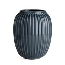 Kähler Hammershøi Vase H200 Antracitgrå