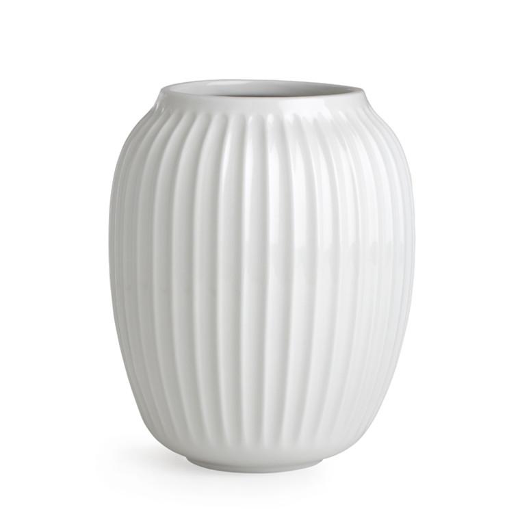 Kähler Hammershøi Vase H200 Hvid
