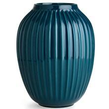 Kähler Hammershøi Vase H250 Petroleumsblå