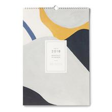 Kartotek Vægkalender Monthly Planner 2018