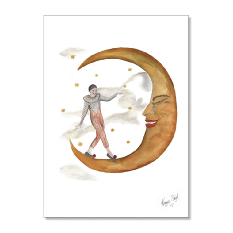 Konges Sløjd Pierrot Plakat