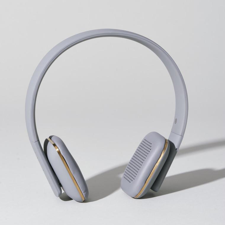 Kreafunk aHEAD Trådløse Høretelefoner Cool Grey