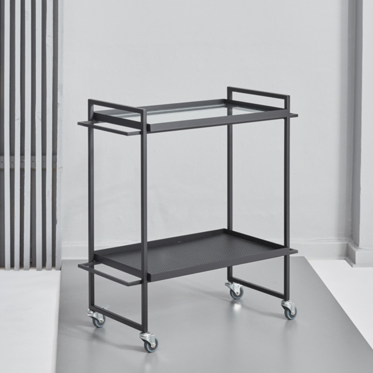 Kristina Dam Trolley Bauhaus Sort