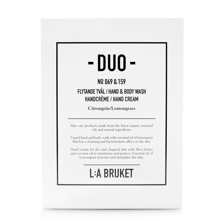 La Bruket Duo Kit Sæbe/Håndcreme Citrongræs