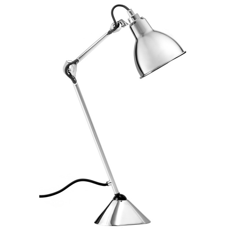 Lampe Gras Bordlampe No. 205 Krom