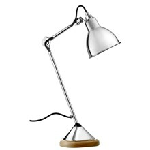 Lampe Gras Bordlampe No. 206 Krom