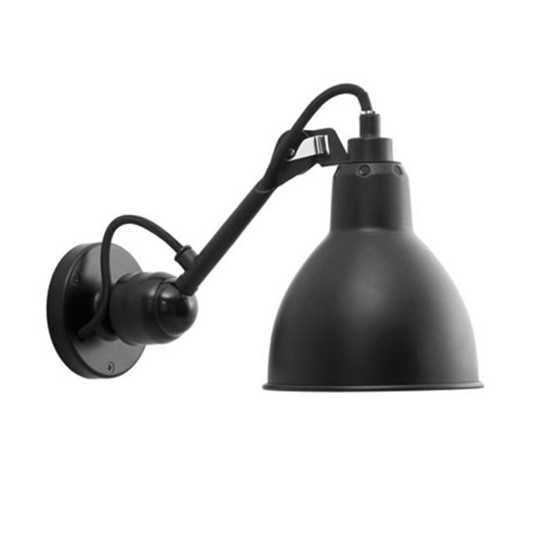 Lampe Gras No 304 Væglampe sort