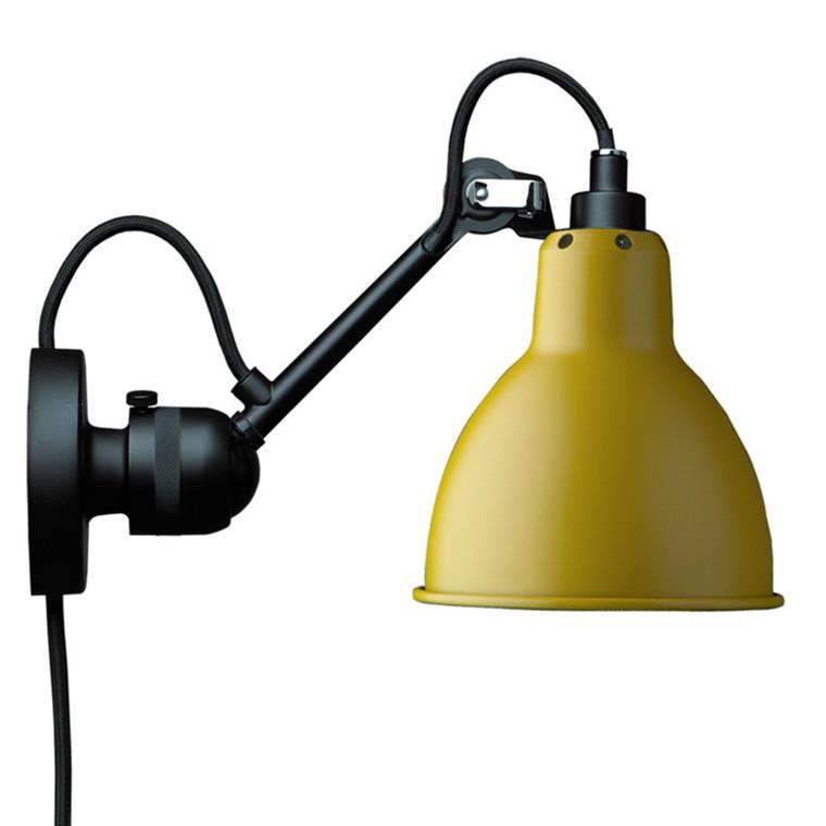Lampe Gras Væglampe Gul No 304 CA