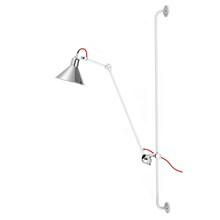 Lampe Gras Væglampe No. 214 Hvid-Krom