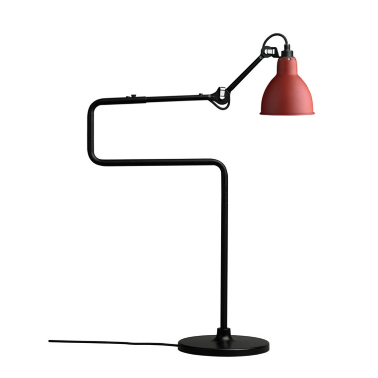 Lampe Gras Gulvlampe No. 317 Rød
