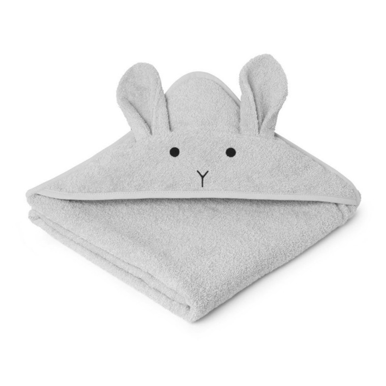 Liewood Håndklæde Kanin Grå