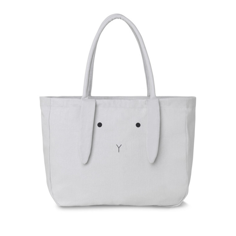 Liewood Tote Bag Alberte Rabbit Dumbo Grey