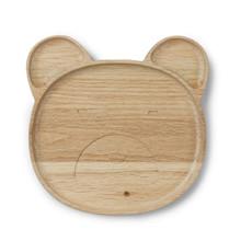 Liewood træ tallerken, Conrad Wooden Plate, Mr. Bear