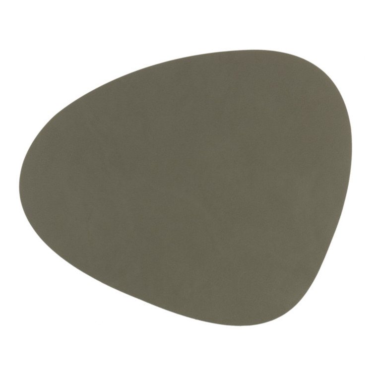 Lind DNA Tablemat Dækkeserviet Curve Army Green-Nupo