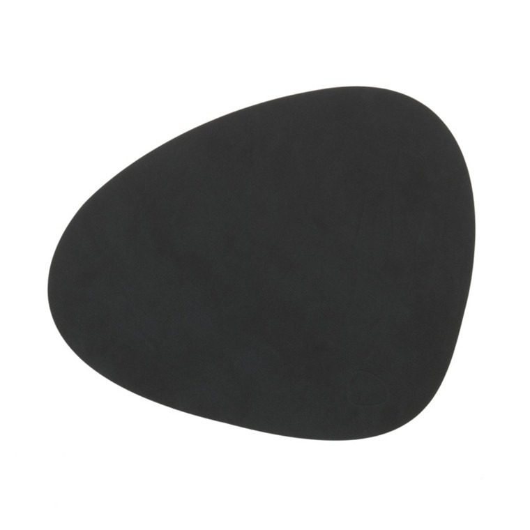 Lind DNA Tablemat Dækkeserviet Curve Black-Nupo