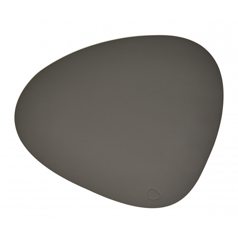 Lind DNA Tablemat Dækkeserviet Curve Dark Grey-Softbuck