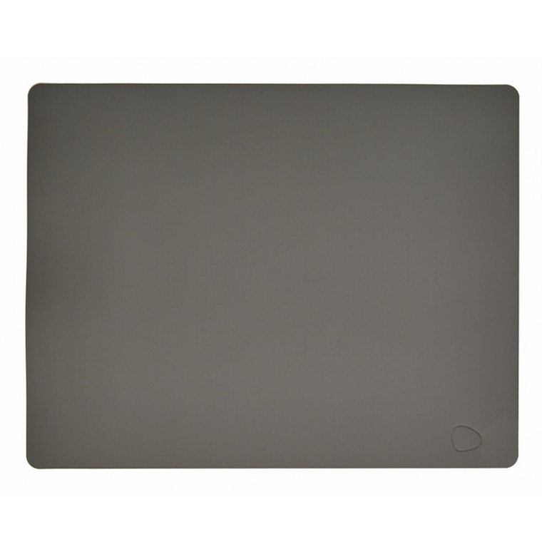 Lind DNA Table Mat Dækkeserviet Square Dark Grey-Softbuck