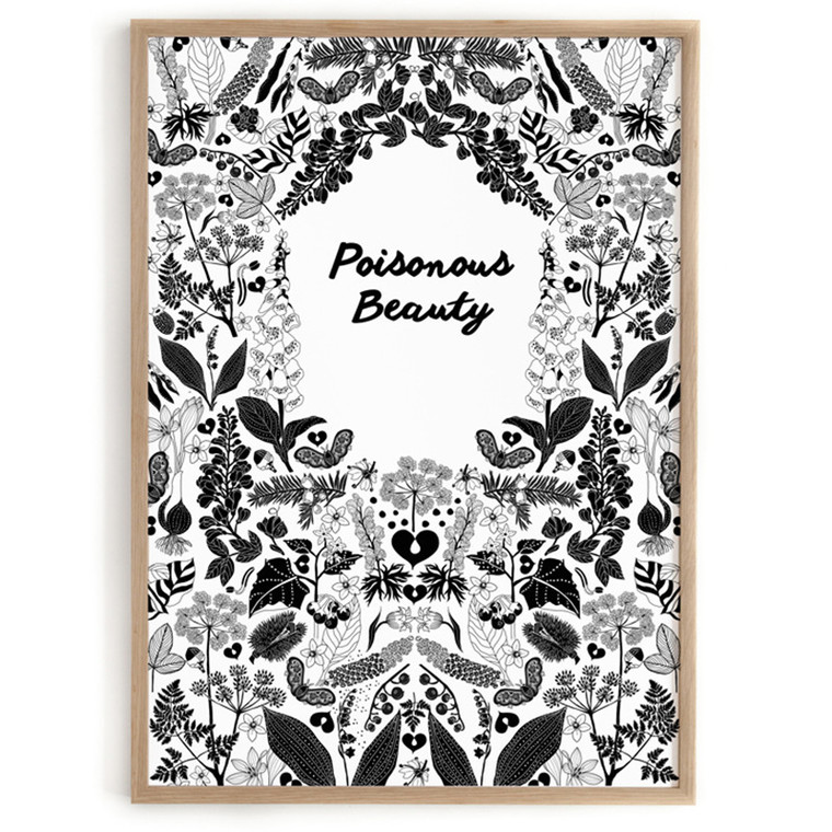 Lisa Grue Plakat Poisonous Beauty
