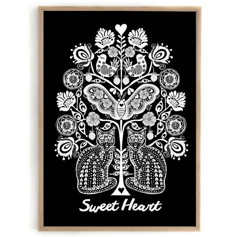 Lisa Grue Plakat Sweet Heart