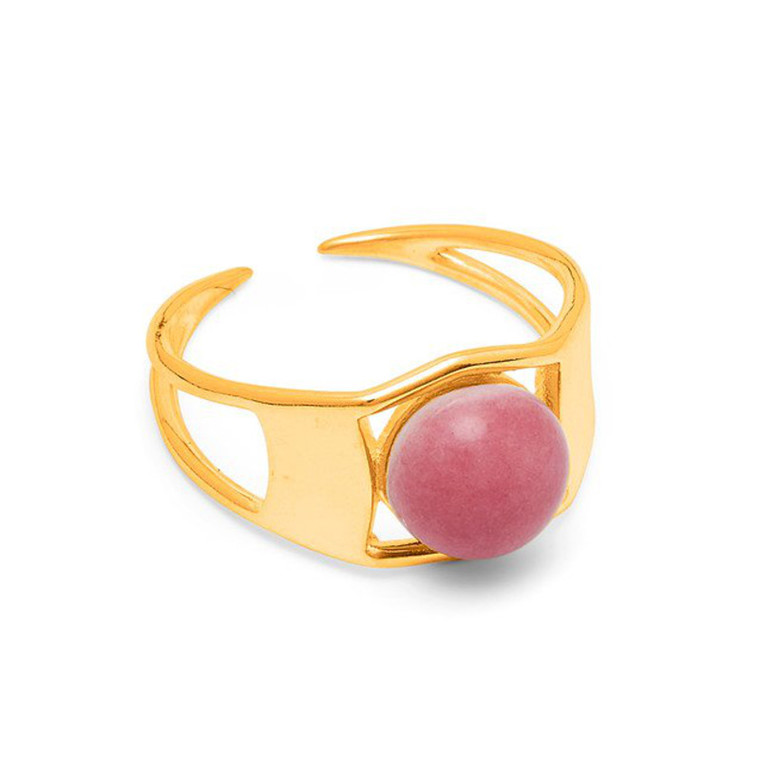 Louise Kragh Ring Arch Guld Heather