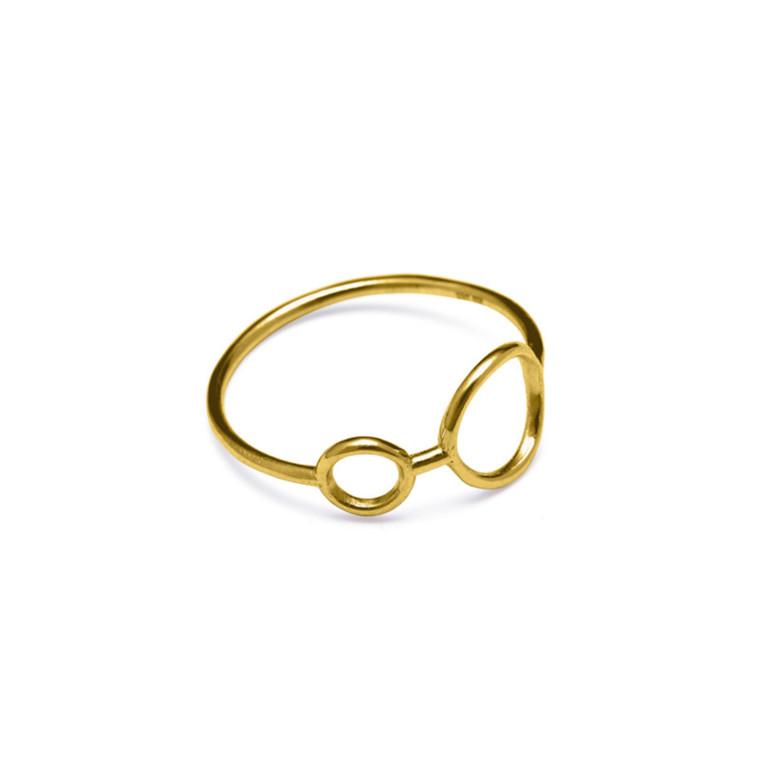 Louise Kragh Ring Hang Around Guld