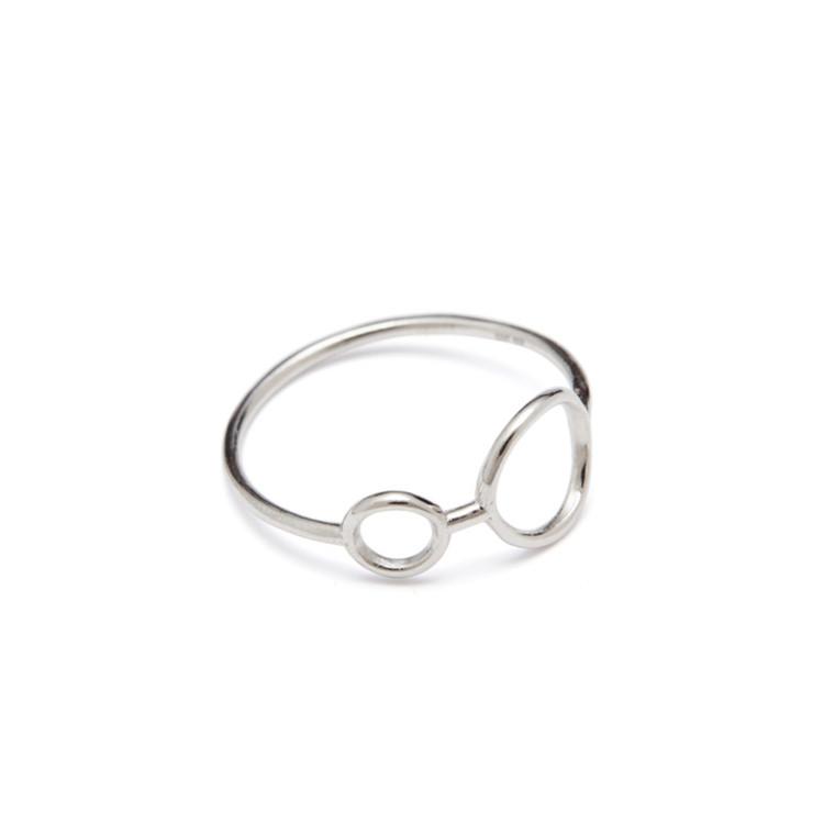 Louise Kragh Ring Hang Around Sølv
