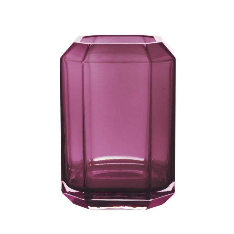 Louise Roe Jewel Vase Amethyst Stor