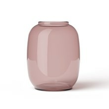 Lyngby Vase Form 140/1 Burgundy