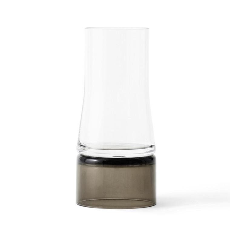 Lyngby JC Vase 2in1 Klar-Smoke