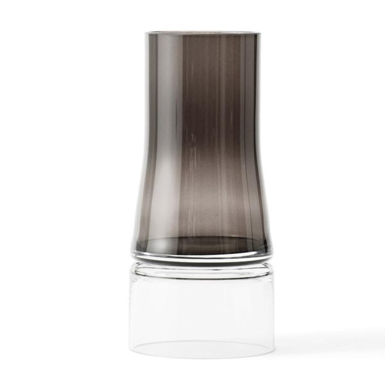 Lyngby JC Vase 2in1 Smoke-Klar