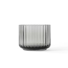 Lyngby Porcelæn Lysestager Glas Smoke