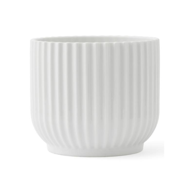 Lyngby Porcelæn Flowerpot Hvid