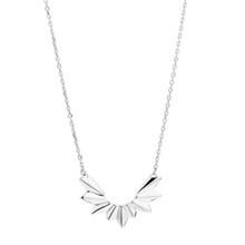 Maria Black Wing Halskæde Shiny Sølv