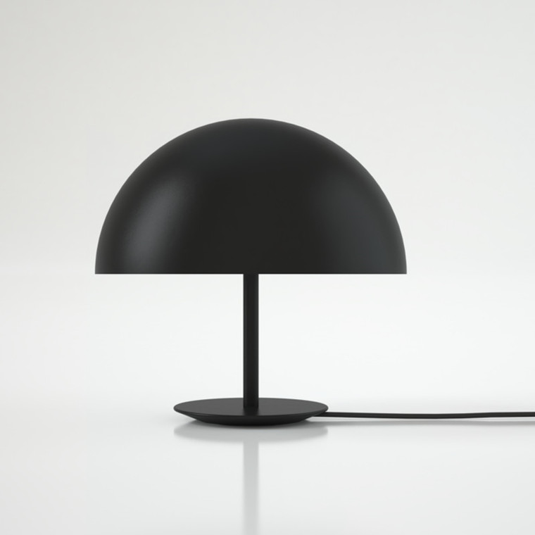 Mater Bordlampe Dome Sort