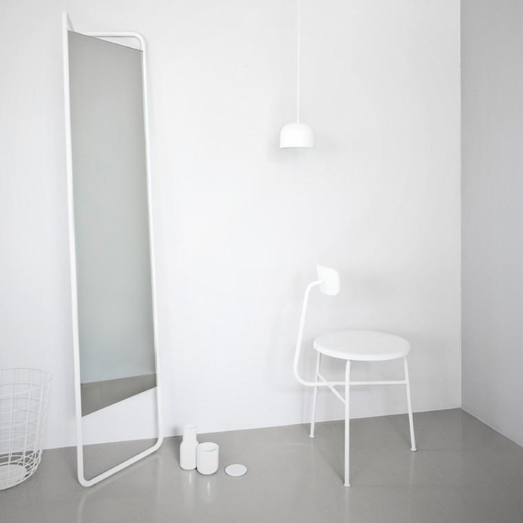 Menu Kaschkasch Floor Mirror Hvid